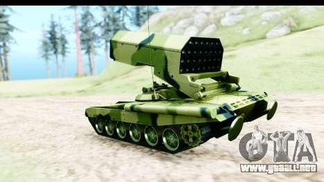 TOS-1A para GTA San Andreas left