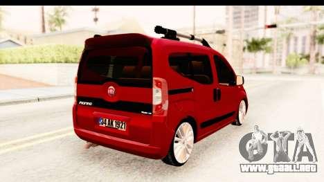 Fiat Fiorino v2 para GTA San Andreas left