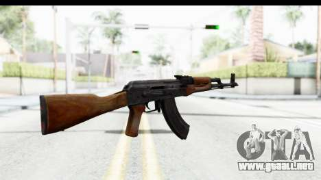 AKM 7.62 para GTA San Andreas segunda pantalla