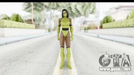 Tanya MK2 para GTA San Andreas segunda pantalla