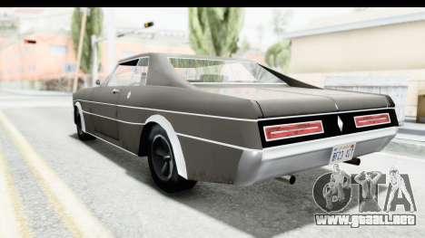 Imponte Tempest 1966 para GTA San Andreas vista posterior izquierda