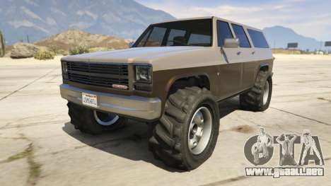 GTA 5 Off-roading Rancher