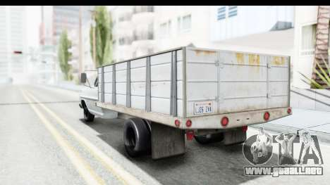 Ford F-350 Farm Truck 1970 para GTA San Andreas left