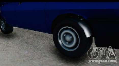 Dacia Liberta para GTA San Andreas vista hacia atrás