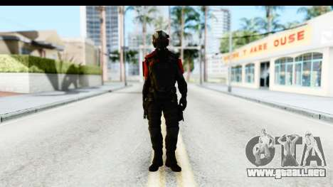 Homefront The Revolution - KPA v1 Black para GTA San Andreas segunda pantalla