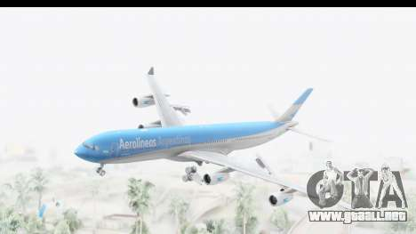 Airbus A340-300 Aerolineas Argentinas para GTA San Andreas