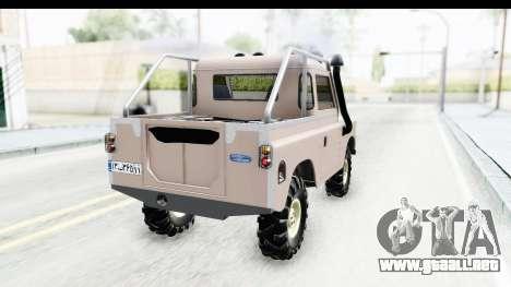 Land Rover Pickup Series3 para GTA San Andreas left