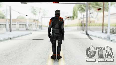 Homefront The Revolution - KPA v5 Black para GTA San Andreas tercera pantalla