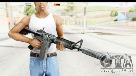 AR-15 Silenced para GTA San Andreas tercera pantalla