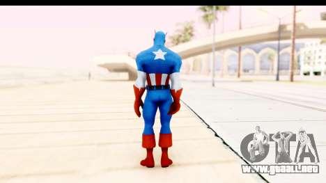 Marvel Heroes - Captain America para GTA San Andreas tercera pantalla
