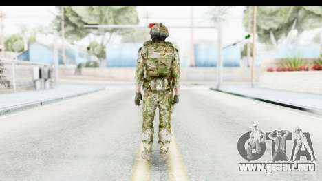 Global Warfare UK para GTA San Andreas tercera pantalla