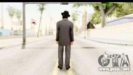 Al Capone para GTA San Andreas tercera pantalla