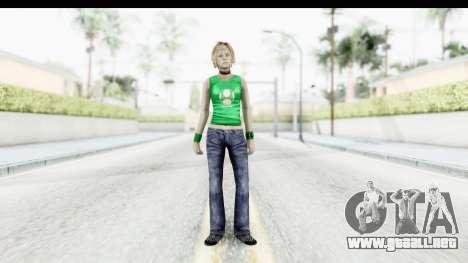 Silent Hill 3 - Heather Sporty Green Get A Life para GTA San Andreas segunda pantalla