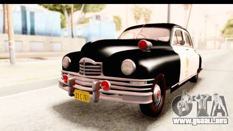 Packard Standart Eight 1948 Touring Sedan LAPD para GTA San Andreas