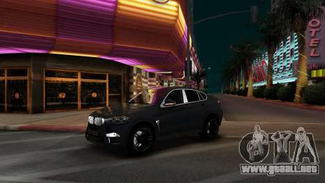 BMW X6M Bulkin Edition para GTA San Andreas left