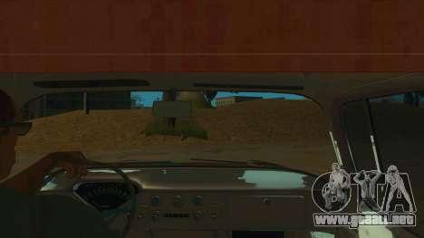 Chevrolet Apache para visión interna GTA San Andreas