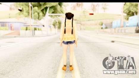 DoA 5 - Pai Chan Casual para GTA San Andreas tercera pantalla