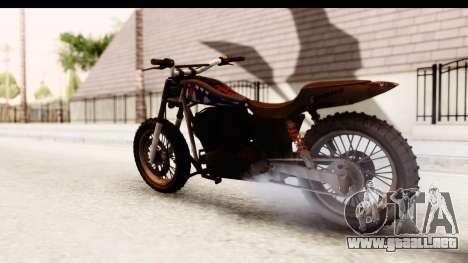 GTA 5 Western Cliffhanger Custom v2 IVF para GTA San Andreas left