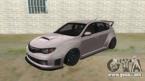 2008 Subaru WRX Widebody L3D para GTA San Andreas