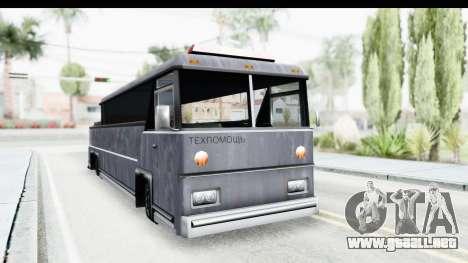 Towbus para la visión correcta GTA San Andreas