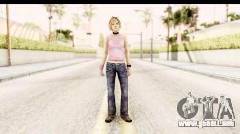 Silent Hill 3 - Heather Redone Less Gloomy para GTA San Andreas segunda pantalla