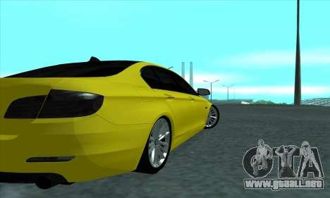 BMW 525 Gold para la visión correcta GTA San Andreas