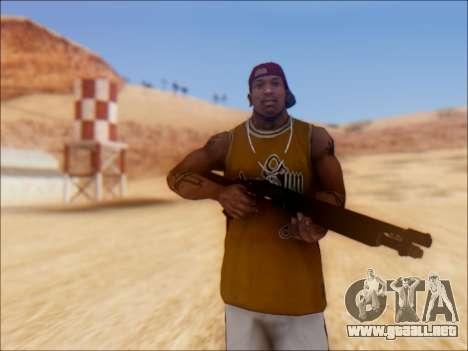 GTA V Shrewsbury Pump Shotgun para GTA San Andreas segunda pantalla