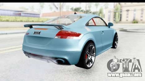 Audi TT RS para GTA San Andreas left