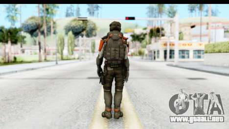 Homefront The Revolution - KPA v3 Captain para GTA San Andreas tercera pantalla
