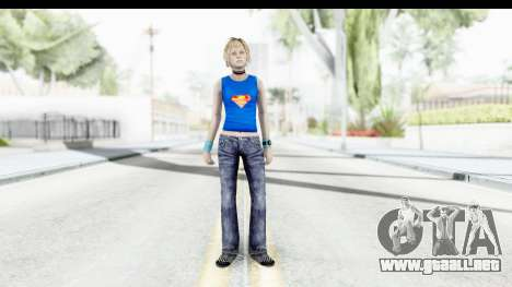 Silent Hill 3 - Heather Sporty Super Girl para GTA San Andreas segunda pantalla