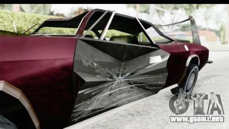 Tampa Daytona Kill para GTA San Andreas vista hacia atrás