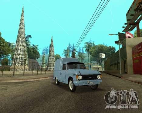 Moskvich 2715 De Armenia para vista lateral GTA San Andreas