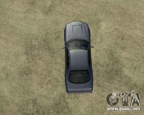 Nissan Skyline Armenia para visión interna GTA San Andreas