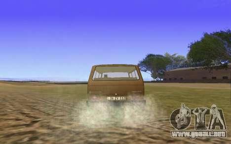Volkswagen Transporter T-3 Armenian para vista lateral GTA San Andreas