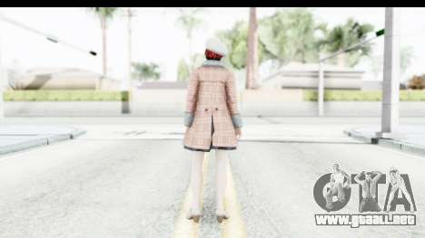 DoA 5 - Mila Casual para GTA San Andreas tercera pantalla