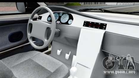 Ikco Samand Pickup v1 para visión interna GTA San Andreas