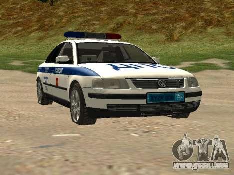 Volkswagen Passat ДПС para GTA San Andreas