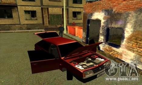 2109 para las ruedas de GTA San Andreas