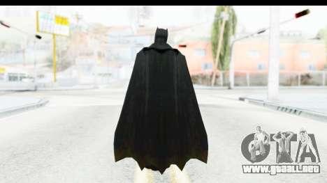 Injustice God Among Us - Batman BVS para GTA San Andreas tercera pantalla