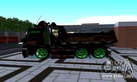 KamAZ 65115 para GTA San Andreas left