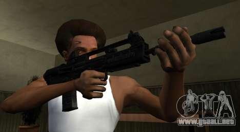 VHS 2 PayDay 2 para GTA San Andreas segunda pantalla