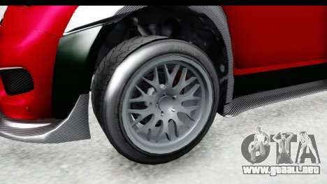 GTA 5 Grotti Brioso RA para GTA San Andreas vista hacia atrás