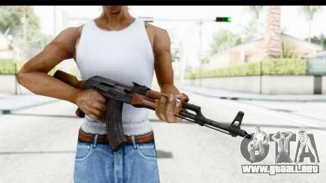 AKM 7.62 para GTA San Andreas tercera pantalla