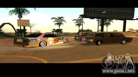 Toyota Chaser para vista inferior GTA San Andreas