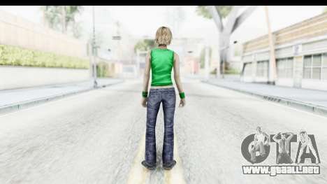 Silent Hill 3 - Heather Sporty Green Get A Life para GTA San Andreas tercera pantalla