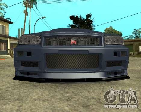 Nissan Skyline Armenia para GTA San Andreas left