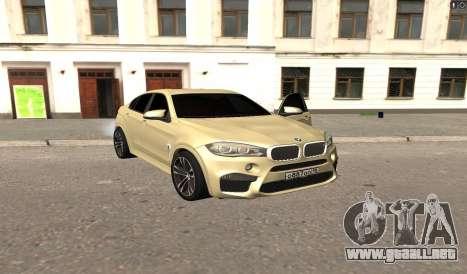 BMW X6M Bulkin para GTA San Andreas
