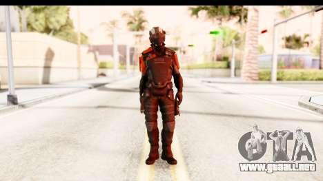 Homefront The Revolution - KPA v2 Black para GTA San Andreas segunda pantalla