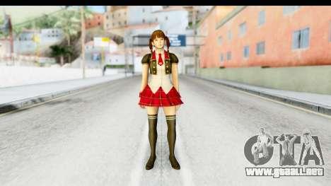 DoA 5 - Lei Fang Pop Idol para GTA San Andreas segunda pantalla