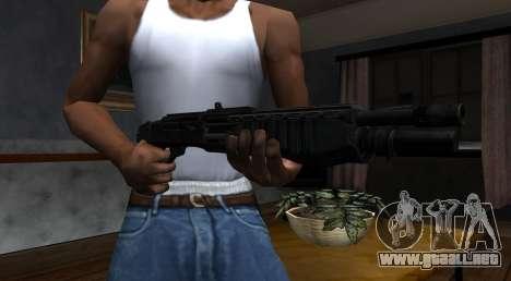 SPAS-12 Black Mesa para GTA San Andreas segunda pantalla